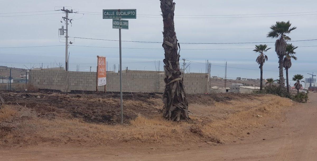 Terreno nombre calle